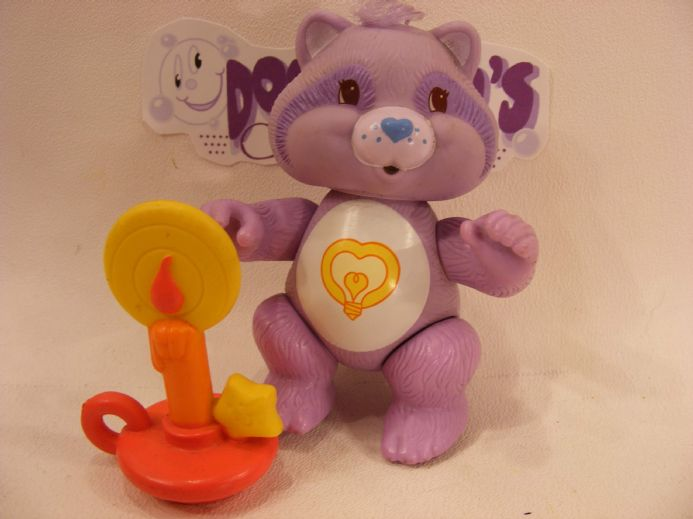 VINTAGE BRIGHTHEART RACCOON CARE BEARS COUSIN